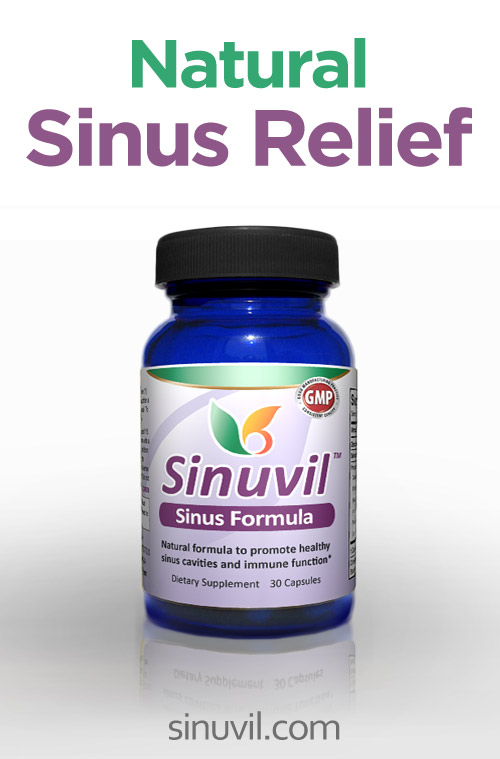 Sinuvil - Natural Relief for Sinus Pain