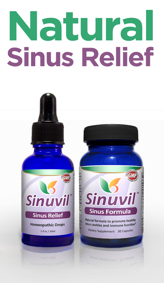 Sinuvil: Homeopathic Treatment for Sinus Pain
