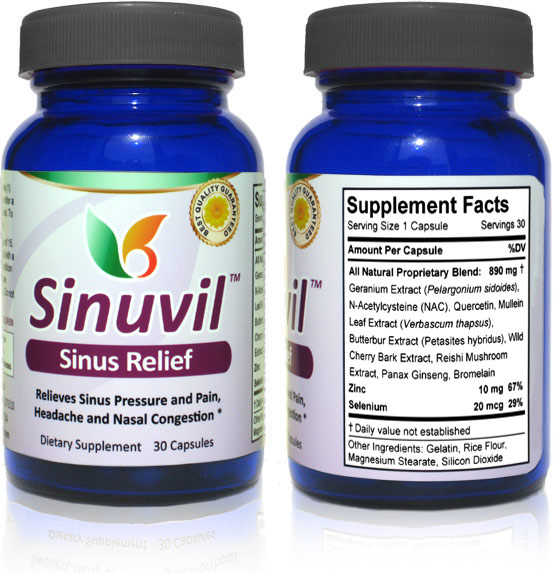 Sinuvil - Sinus Relief